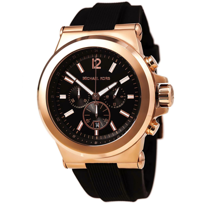 rose gold watch trends for men