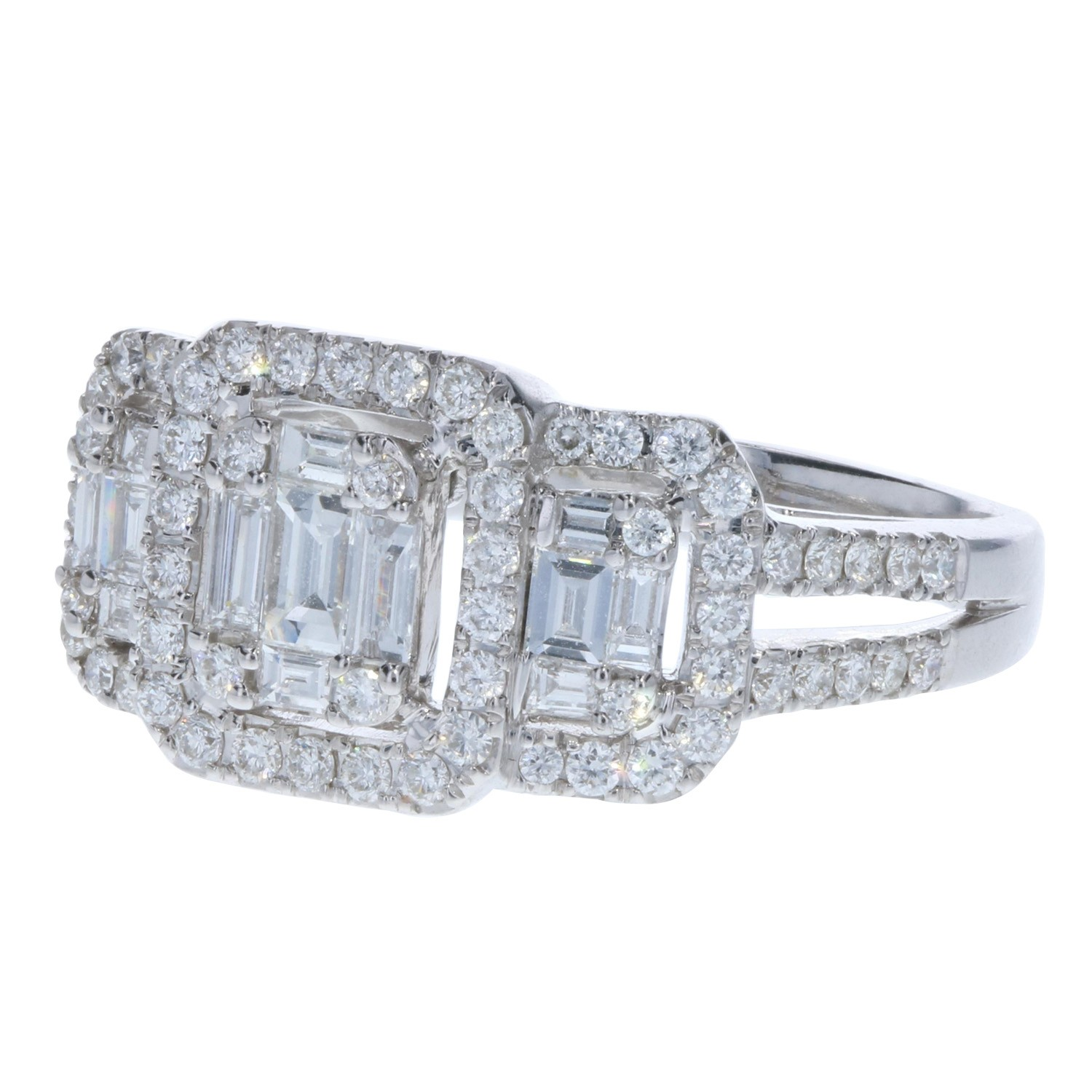 how big should a diamond ring be