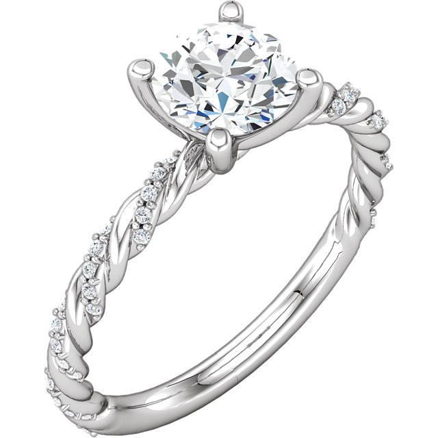 what is a pave ring engagement ring